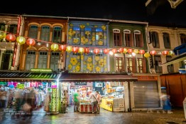 chinatown-singapore-flower-building-night-photography