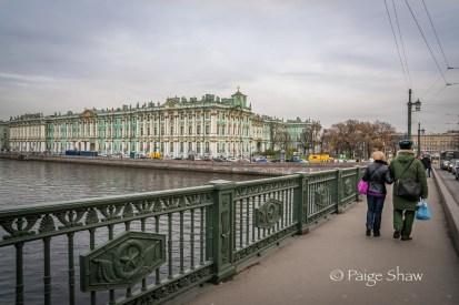 Bridge shot of the Hermitage