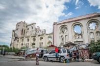 life-backdrop-cathedral-port-au-prince-haiti