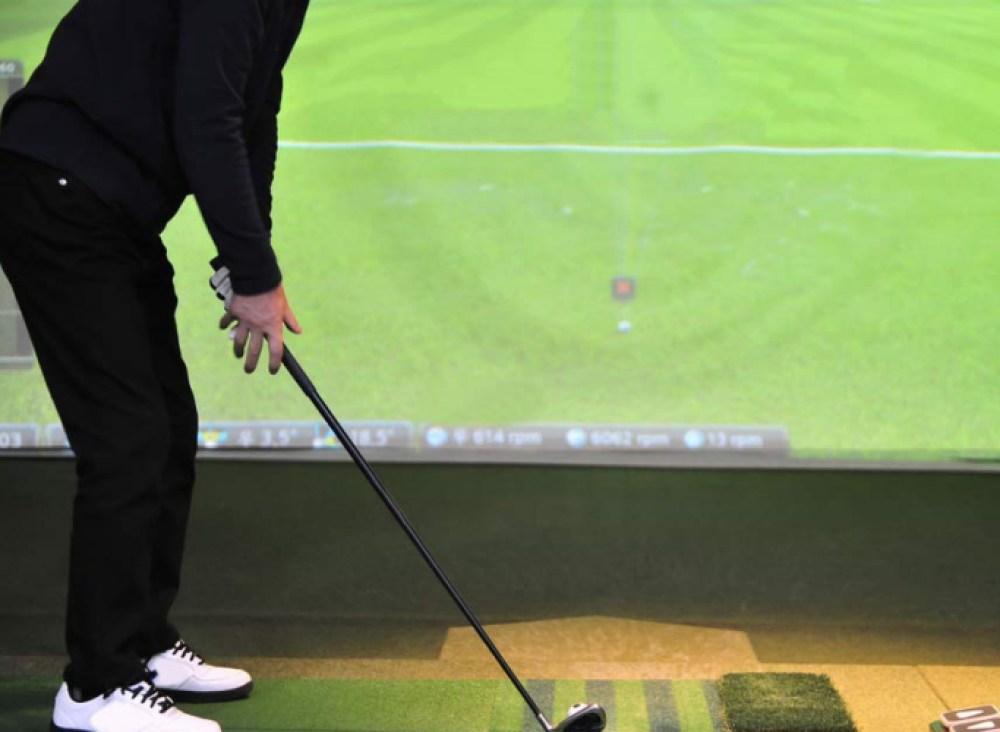 Simulateur de golf intérieur Mascouche Terrebonne Lanaudière