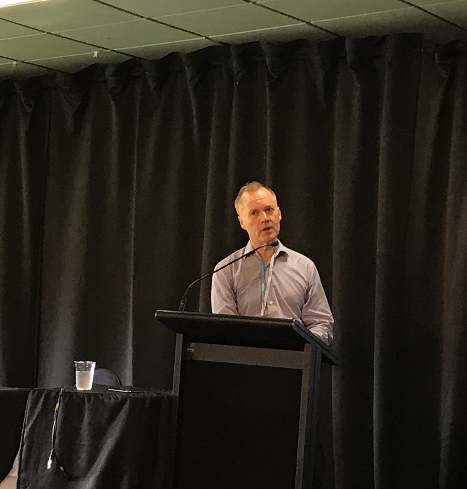 Lightwire founder, Murray Pearson at Rural Connectivity Symposium 2017