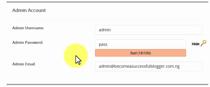 How to Start A WordPress Blog on Qservers_Admin settings11