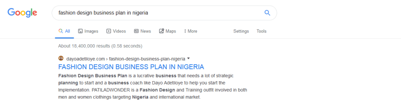 fashion-design-business-plan-in-nigeria-google-search