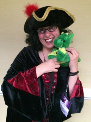 Author KT Pinto gets in touch with Windsor and her inner pirate