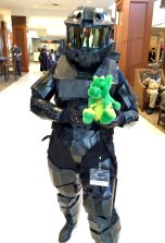 One of the most badass looking armor cosplayers I've ever seen.