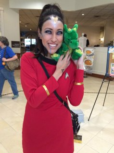 Windsor wanted to join Starfleet after meeting this lady.