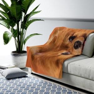 Custom Plush Blanket