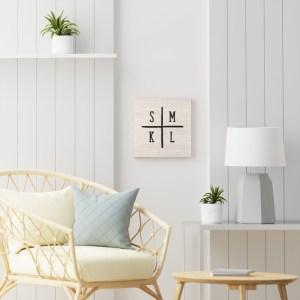 Initials Wall Art