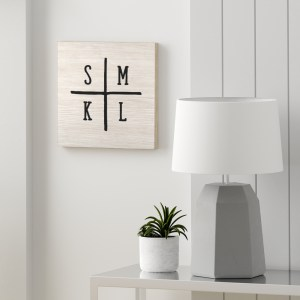 Initials Wall Art