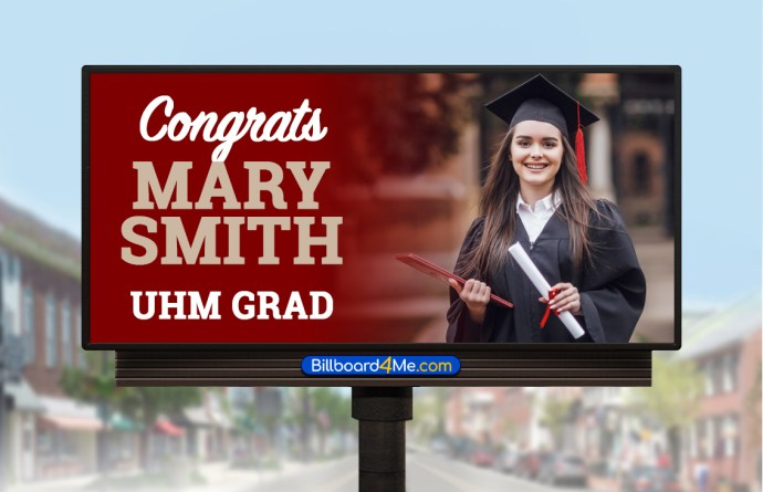 Blog - Graduate Billboard