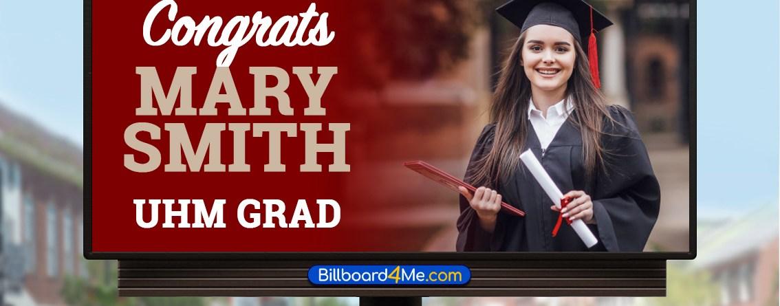 Blog - Graduate Billboard