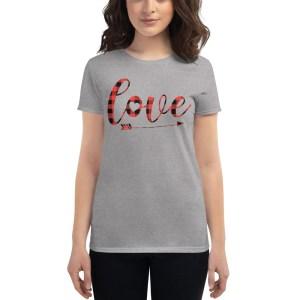womens-fashion-fit-t-shirt-heather-grey-love-buffalo-plaid