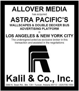 Astra Pacific and AllOver Media - Billboard Insider