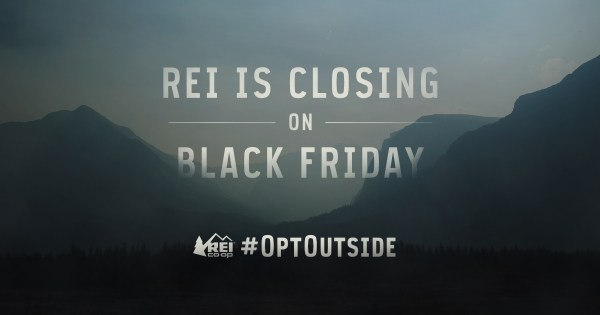 Image result for #OptOutside Campaign