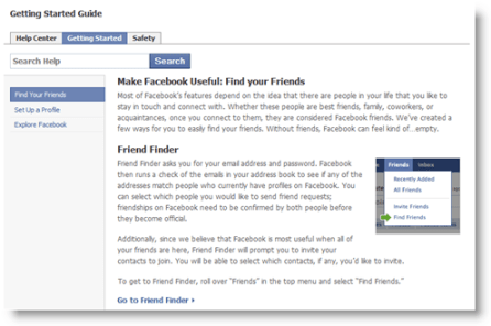 Getting Started with Facebook: Friends, Safety and Privacy