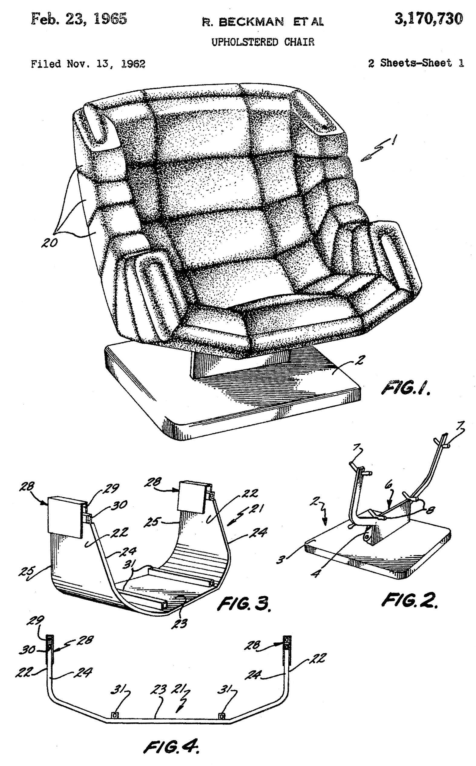 chair design patent white wicker herman miller segmented