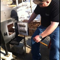 Sugaring 2013 – Our Last Outside Boil