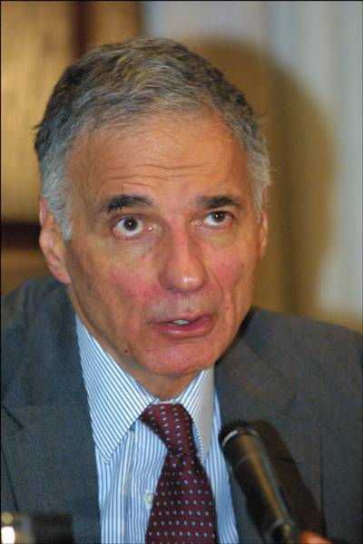 A Vote For Nader Says No to Corporate Politics