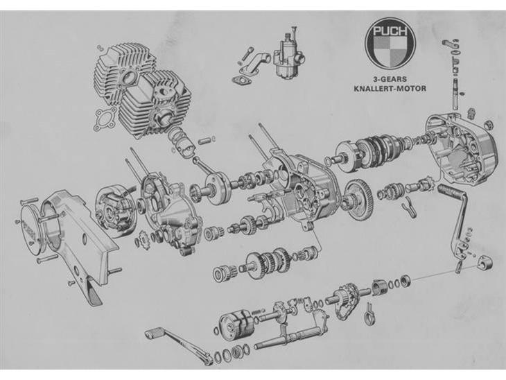 Puch Newport Wiring Diagram Puch Clutch Wiring Diagram