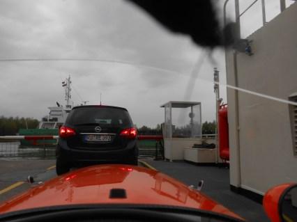 Færge over Nordsee Kanal