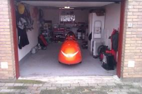 Hjemme i velomobil garagen 29-11-2012