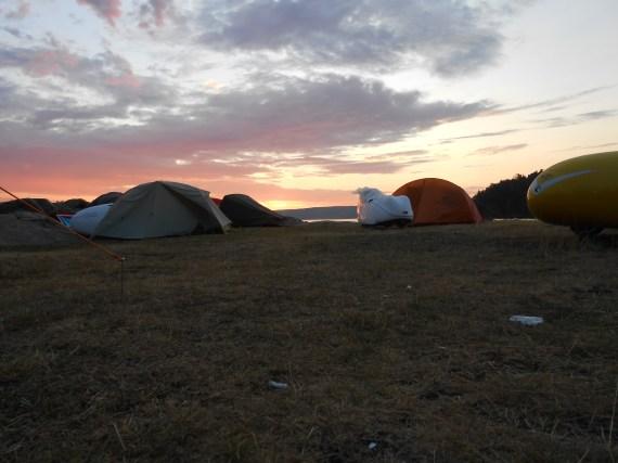Klokken 04.00 Ramton camp 1