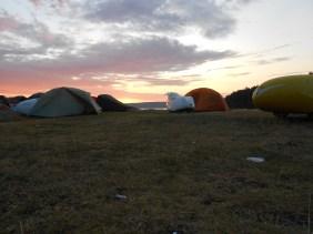 Klokken 04.00 Ramton camp 3