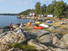 Klokken 06.00 Ramton camp