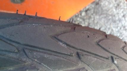 Krater i dæk