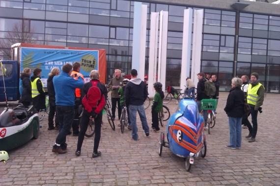 Leitra og Tour De Future på Rådhuspladsen Frederikshavn