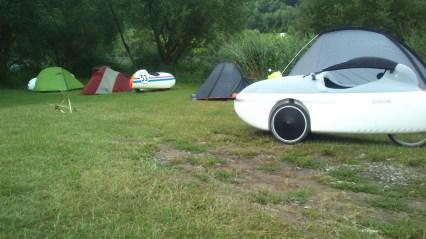 Morgen på camping ved Mosel floden (2)