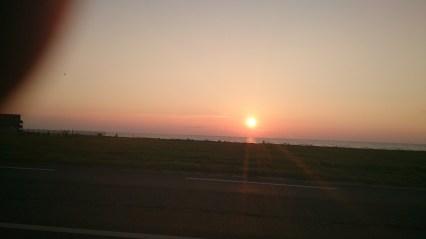 Morgensol ved Sæby