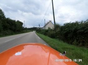 Videre op ad bakken fra Brest