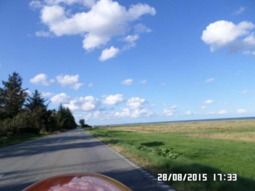 Østkystvejen mod Egense og Limfjorden