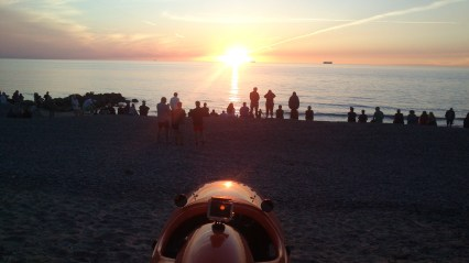 Solnedgang Skagen