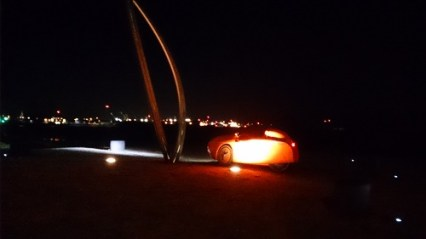 Strada fish sculpture