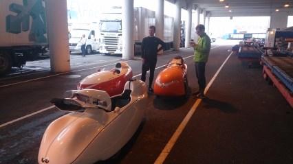 Strada Milan Quest Xs venter på færgen i Göteborg