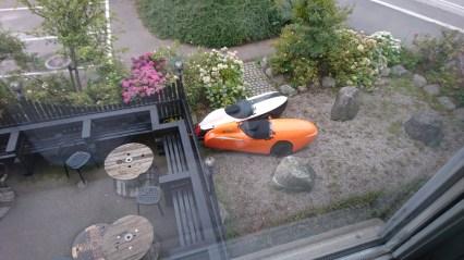 2 x Strada fra hotelværelse