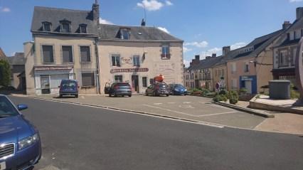 Villaines-la-Juhel strada på taget