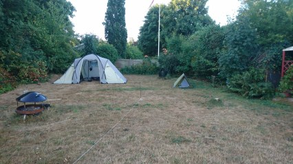 Camping i haven