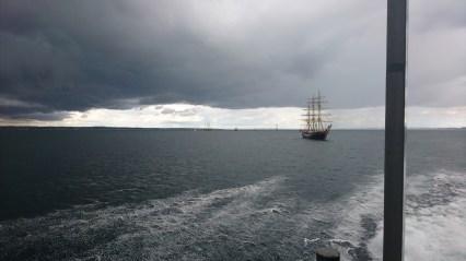 Sorte skyer i Aarhus