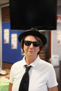 Jake & Elwood's sister, Gillian Blues