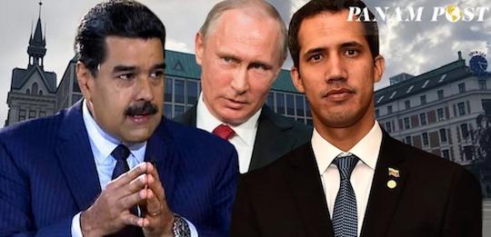 juego trancado venezuela putin guaido maduro eeuu