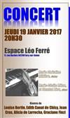 Léo Ferré Marie Cécile Ferré : ferré, marie, cécile, Femme, Violon, Réservation, Billets, Places, BilletReduc.com