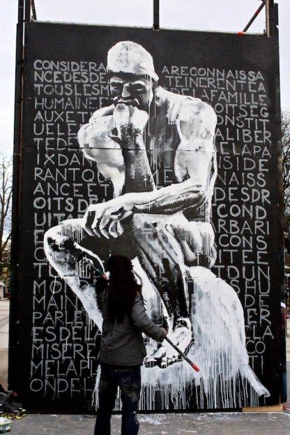 Des artistes contre le racisme
