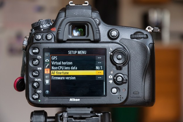 In the Nikon D610 menu system, AF Fine Tune is found in the Setup Menu. (Bill Ferris)