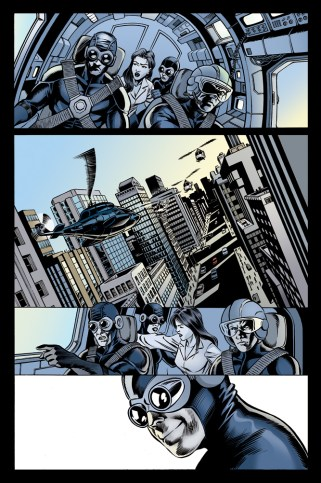 Thunderbird #2, inks by Rob Hawkins