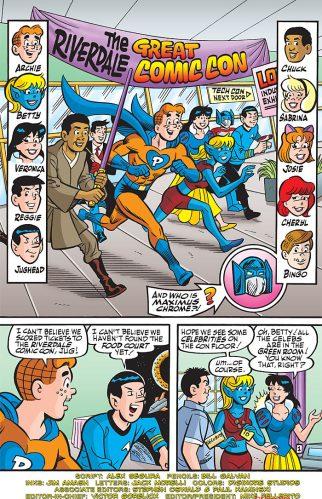 Archie at Comic Con