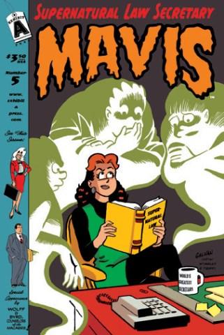 Cover for Mavis #5