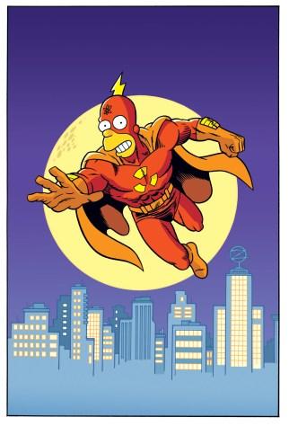 Splash page for Simpsons Super Spectacular #14